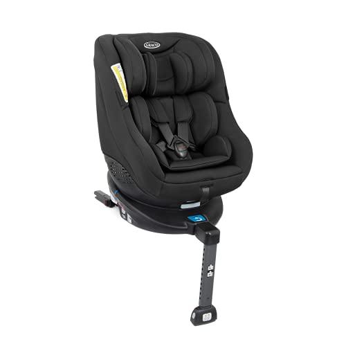 Graco Turn2Me Reboarder Kindersitz mit Isofix, 360 Grad drehbarer Autositz für Kinder von 0-4 Jahre, Gruppe...