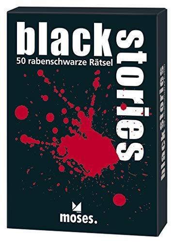 moses. black stories   50 rabenschwarze Rätsel   Das Krimi Kartenspiel