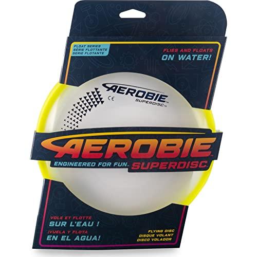 Aerobie Superdisc, Frisbee für präzise Würfe, farblich sortiert