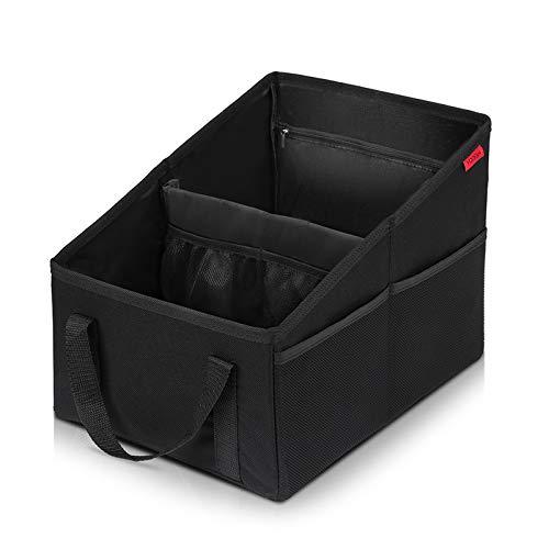 Rücksitz-Organizer. Zum Anschnallen mit viel Platz für Bücher, Tiptoistift und kleines Spielzeug