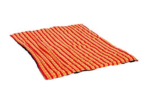 Amazonas Picknickdecke mit beschichteter Unterseite und Thermofüllung. Maße: 175 cm x 135 cm