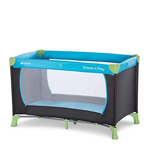 Hauck Reisebett Dream N Play / für Babys und Kinder ab Geburt bis 15 kg / 120 x 60 cm / Leicht / Kompakt...