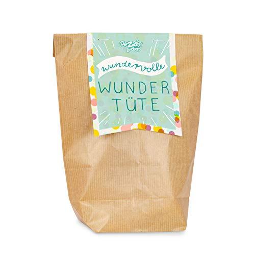 Wundervolle Wundertüte, mit einem bunten Süßigkeiten-Mix aus der Kindheit, 200 Gramm, verpackt in toller...