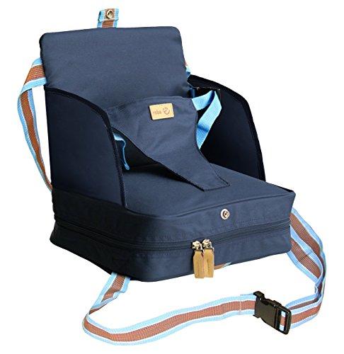 roba Boostersitz, mobiler aufblasbarer Kindersitz mit erhöhten Seitenteilen, flexible Sitzerhöhung für...