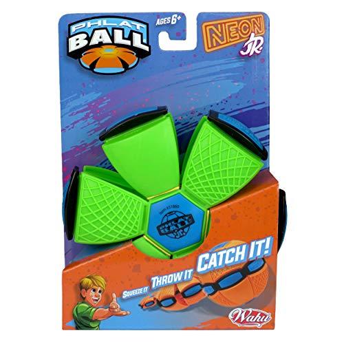 Phlat Ball 31860.006 Neon oder Metallic Farbiger transformierender Outdoor-Ball – Pink, Orange, Grün, Lila,...