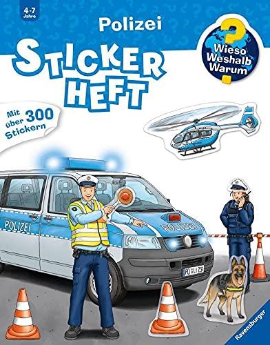 Stickerbuch Wieso Weshalb Warum Polizei