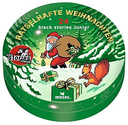 Moses. Black Stories Junior - Rätselhafte Weihnachten, 24 knifflige Rätsel zur Weihnachtszeit,...