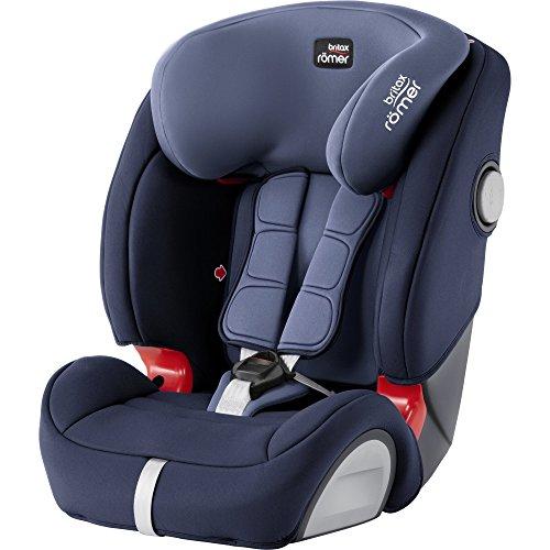 BRITAX RÖMER Kindersitz EVOLVA 1-2-3 SL SICT, optimierter Seitenaufprallschutz für Kinder von 9 - 36 kg...