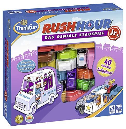 ThinkFun 76303 - Rush Hour® Junior - Das bekannte Logikspiel für jüngere Spieler