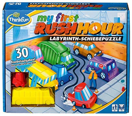 ThinkFun 76412 - My first Rush Hour - Das bekannte Stau-Spiel für Kinder ab 3 Jahren, Logikspiel für 1...
