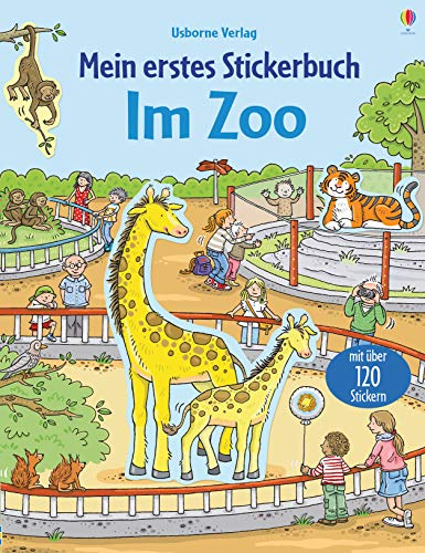 Mein erstes Stickerbuch: Im Zoo