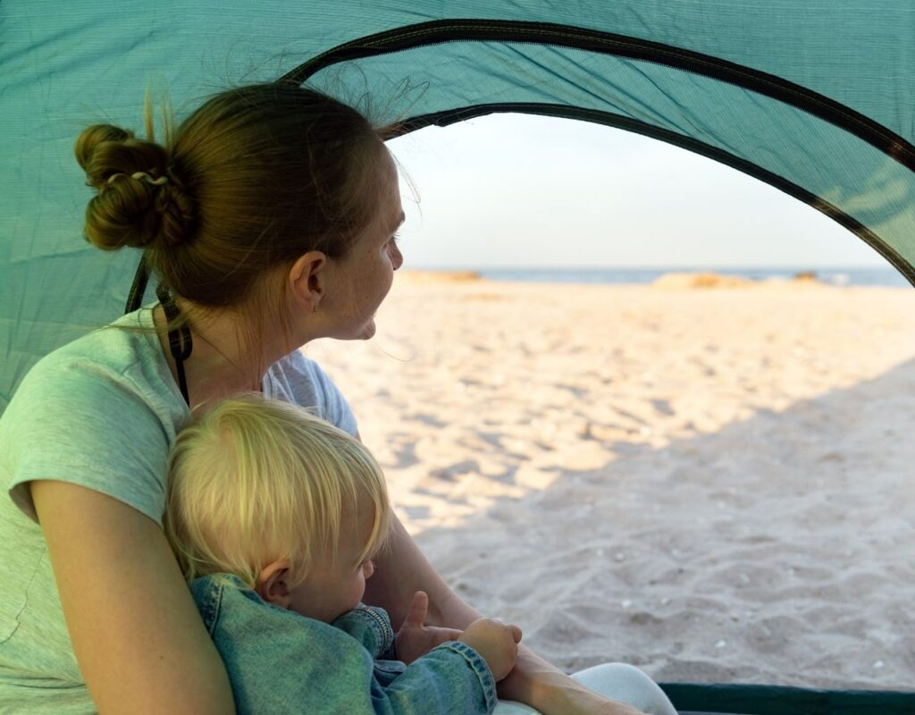 Camping mit Baby