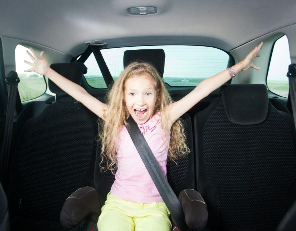 Lange Autofahrt mit Kindern