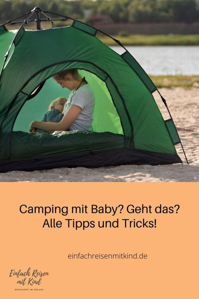 Tipps rund um Camping mit Baby